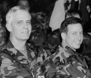 Sgt Major General Jerry Utterback and Craig