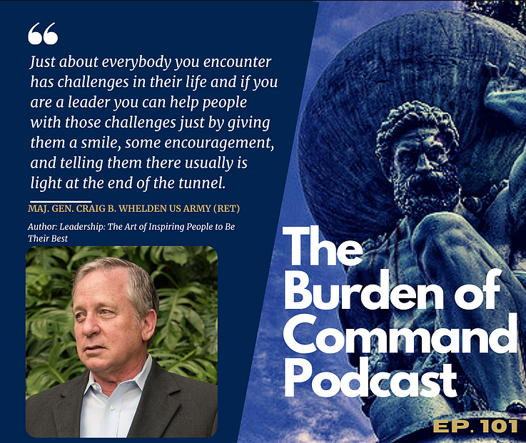 Burden of Command Podcast Poster